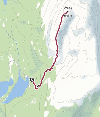 Map / Auf den Vesoldo