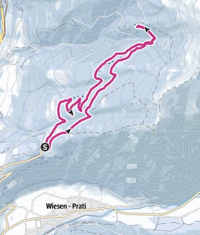 Cartina / Malga Prantner, escursione invernale per tutti!