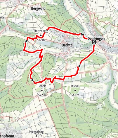 Karte / Land.Tour SchafSpuren