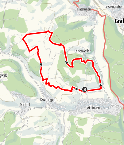 Karte / Land.Tour Venusberg