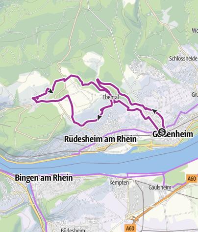 Karte / Klostertour am Energietag 2018