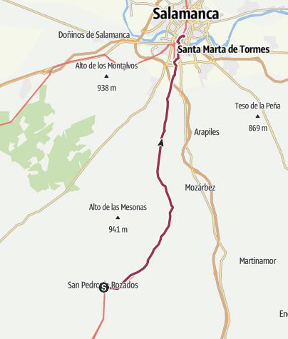 Salamanca Spanien Karte.San Pedro De Rozados Salamanca 22 Tag Von Spaniens Tiefstem
