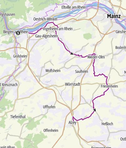 Karte / Selztal (Bingen - Alzey)