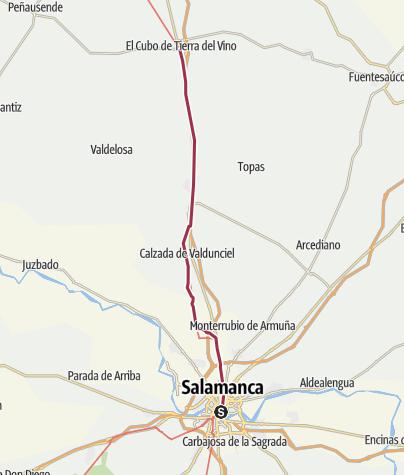Salamanca Spanien Karte.Salamanca El Cubo De La Tierra Del Vino 23 Tag Von Spaniens