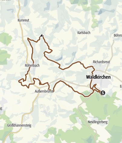 Karte / RSC Röhrnbachrunde