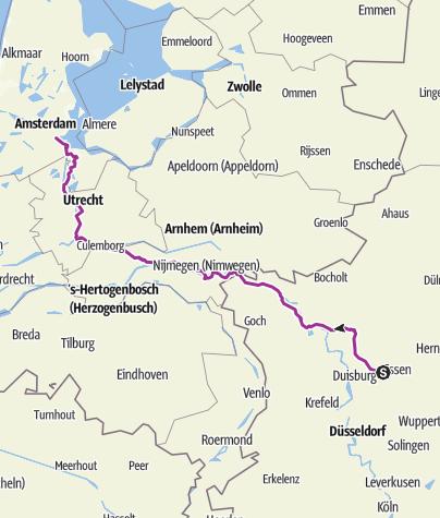 Karte / Amsterdam am 23. April 2018