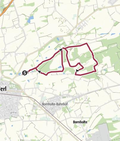 Map / B+H-2018-04-05: Schloß-Holter Wald
