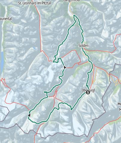 Map / Wyprawa Austria