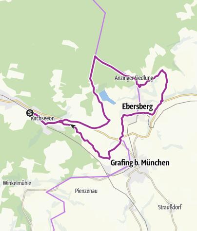 Karte / Rund um Ebersberg