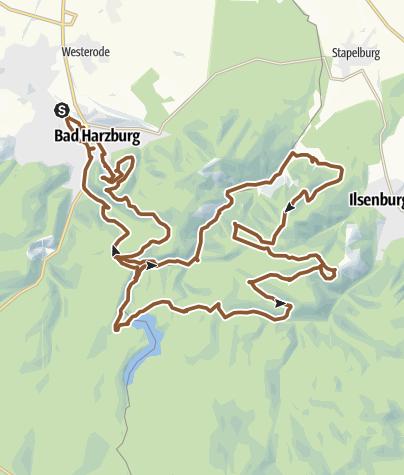 Map / Bad Harzburg