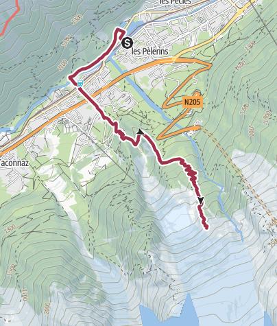 Map / Chamonix - Pyramides