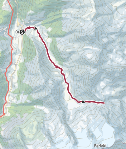 Map / SchweizAction2018_day1