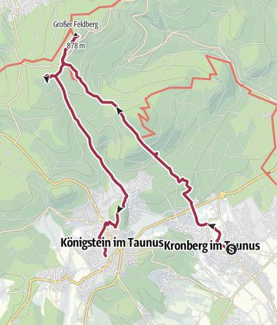 Map / Große Feldberg