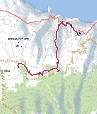 Karte / La Palma Day5