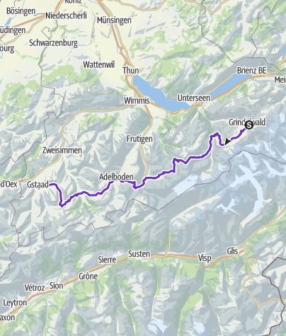 Karte / Via Alpina_4/5