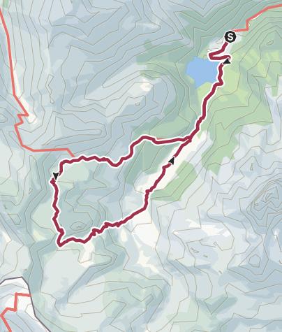 Karte / Les lacs d'Ayous