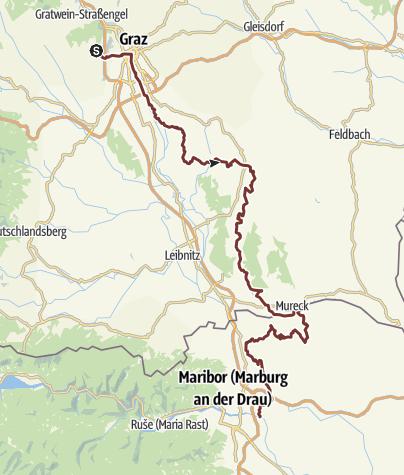 Map / Grazer Jakobsweg