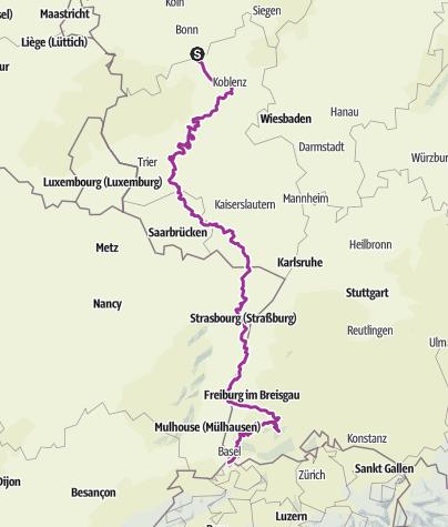 Karte / Tourenplanung