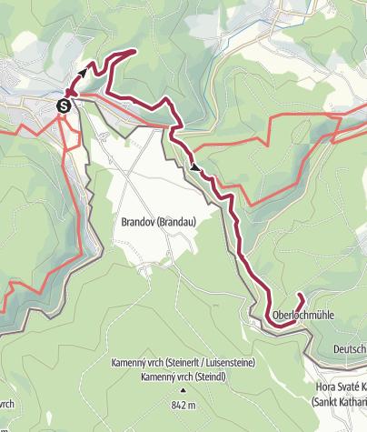 Karte / Wanderung zur Kapelle am Weg