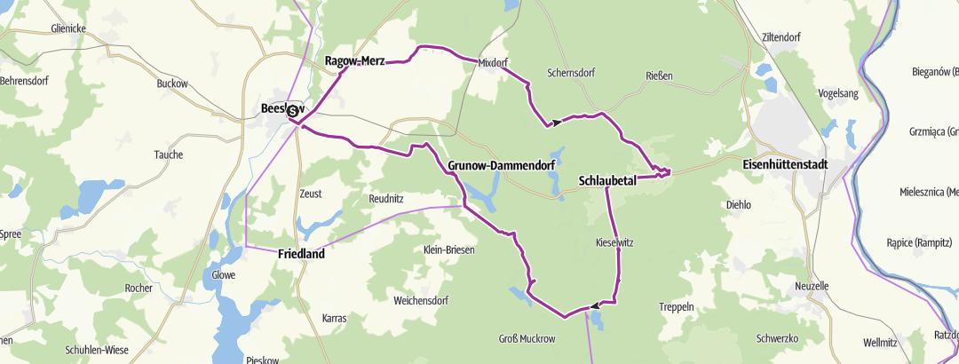 Mapa / Schaubetal