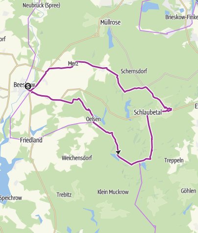 Map / Schaubetal