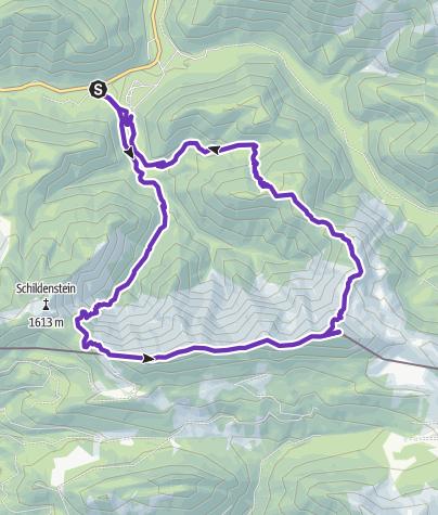 Karte / Blaubergkamm und Halserspitz