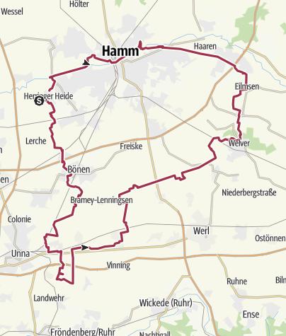 Karte / Pfingstsamstag-Tour