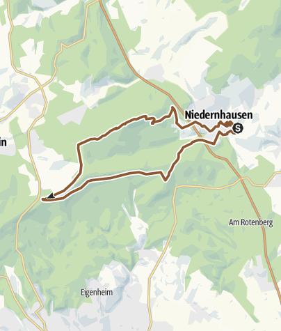 Karte / 20180519 Hohe Kanzel und Jagdschloss Platte