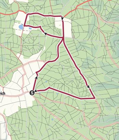 Karte / Irmannsweiler - Weiherwiesen - Tauchenweiler