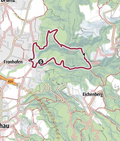 Map / Hörbranz Halbenstein über Katzensteig