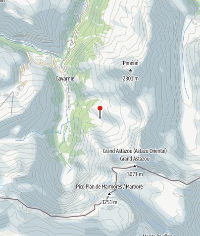 Karte / Cabane de Pailla