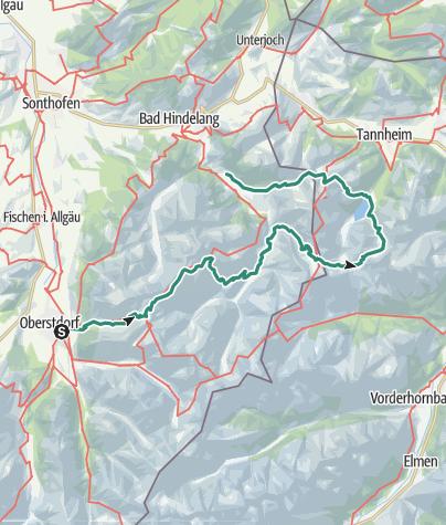 Map / Allgäu Weekend Trip (31 Mai-2 June 2018)