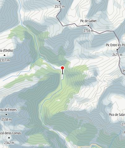 Karte / Refugio de Bujaruelo