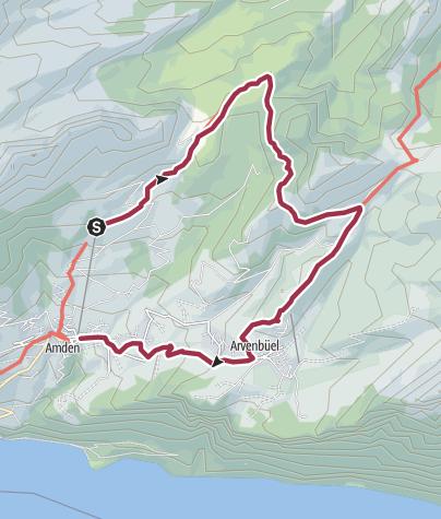 Karte / OST   6: Amdener Höhenweg