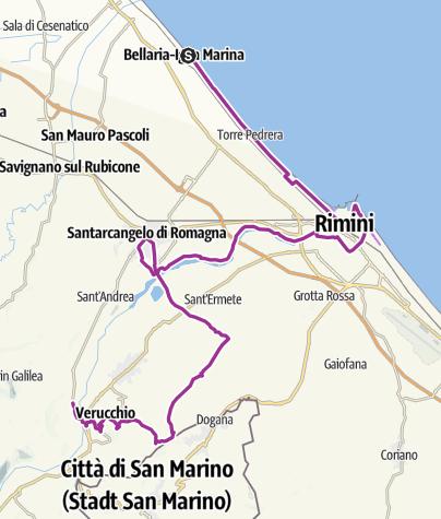 מפה / Marecchiatal
