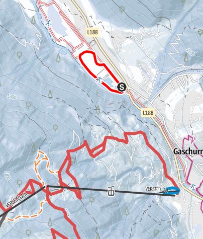 Karte / Nr. 17: Mountain Beach Runde (klassisch)