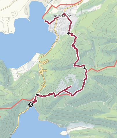 Map / Jochberg short tour