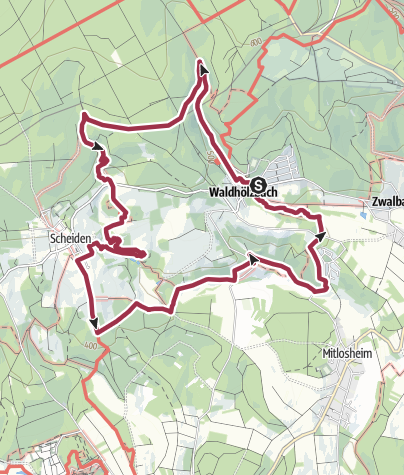 Map / SAH   5: Felsenweg