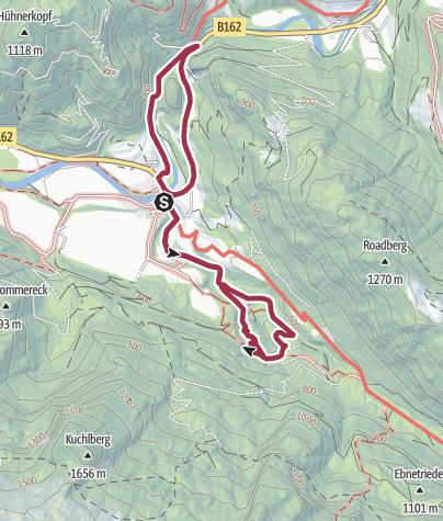 Karte / Mühlenrundweg & Lammerklamm