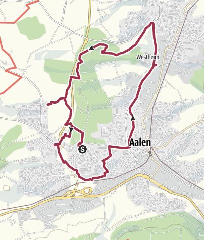Karte / KARN-Weg Aalen