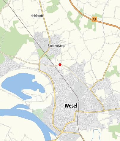 Karte / Fahrradverleih Zweirad Fondermann