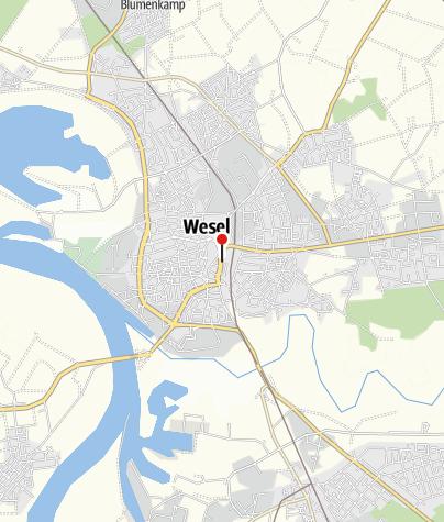 Karte / Gleis 31 - Fahrradstation Wesel