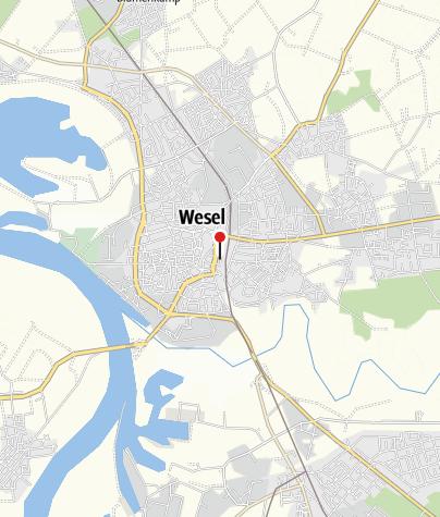 Karte / Gleis 31 - Radstation und Verleih Niederrheinrad
