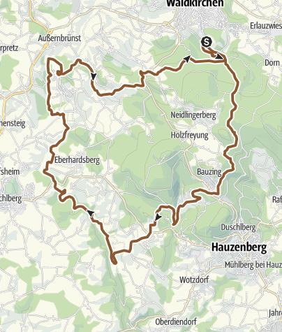 Mapa / RSC Von Waldkirchen zur Erlau