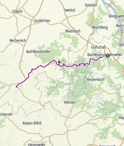 Carte / Radtour Bad Neuenahr-Blankenheim 1