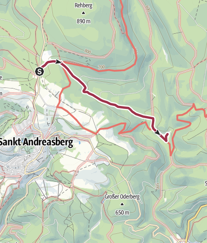 Karte / Dreibrode - Rinderstall
