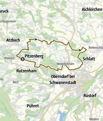 Karte / Hinterschützing
