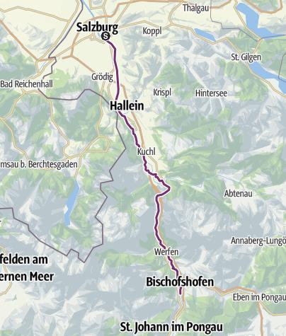 Cartina / Salzburg-Bischofschofen