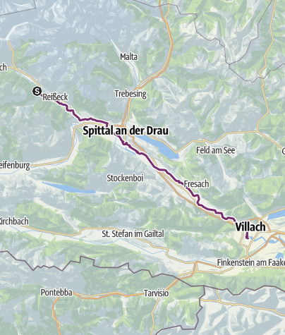 Mappa / Spittal an der Drau- Villach