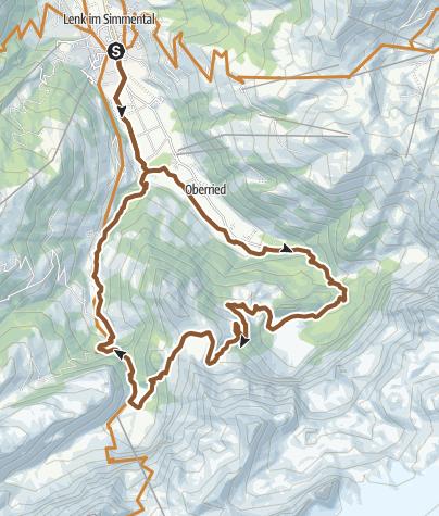 Karte / Retzliberg Langermatte Iffigenalp